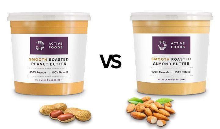 peanut butter vs almond butter - Онлайн магазин за Фъстъчено Масло